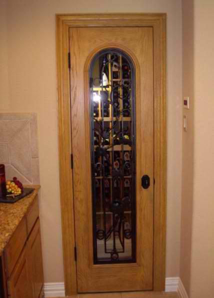 Home Wine Cellar In Frisco Dallas Texas Design Door