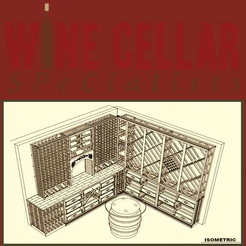 Custom Wine Cellar Builder Texas  sc 1 st  US Cellar Systems & US Cellar Dealer Project in Tx: Wine Cellar Under the Stairs