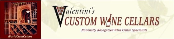 Wine Cellar Dealer - Valentini's Custom Wine Cellars - California and Arizona