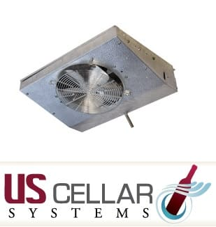 The LPQ Wine Cellar Cooling Unit Series by US Cellar Systems