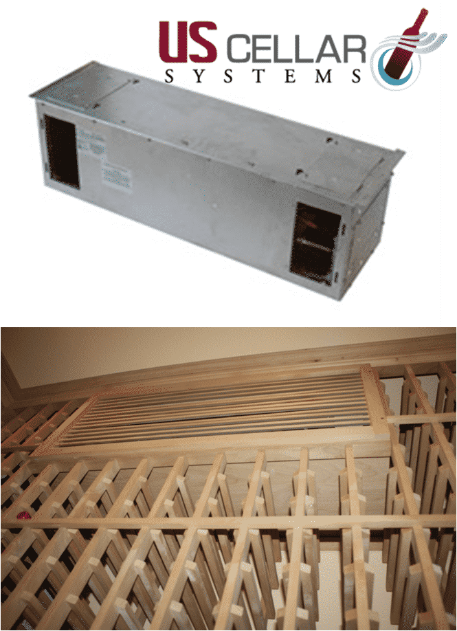 Texas wine cellar cooling unit from US Cellar Systems