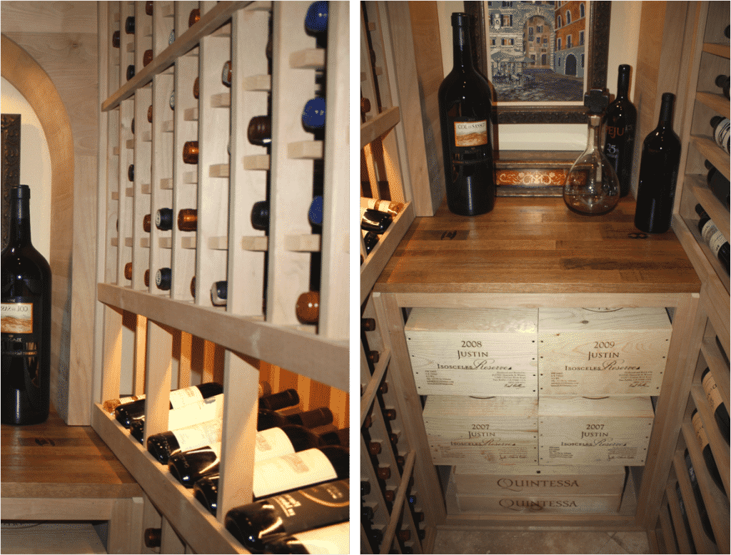 Texas Wine Cellar Racking Design