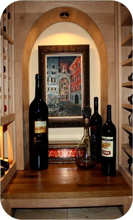 Williams Texas wine cellar