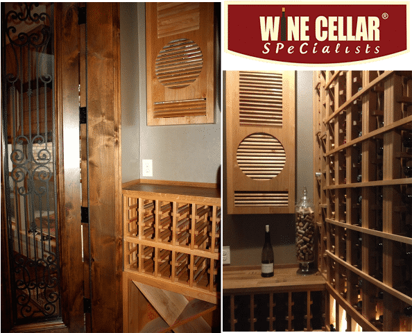 Texas wine cellar design by Wine Cellar Specialists