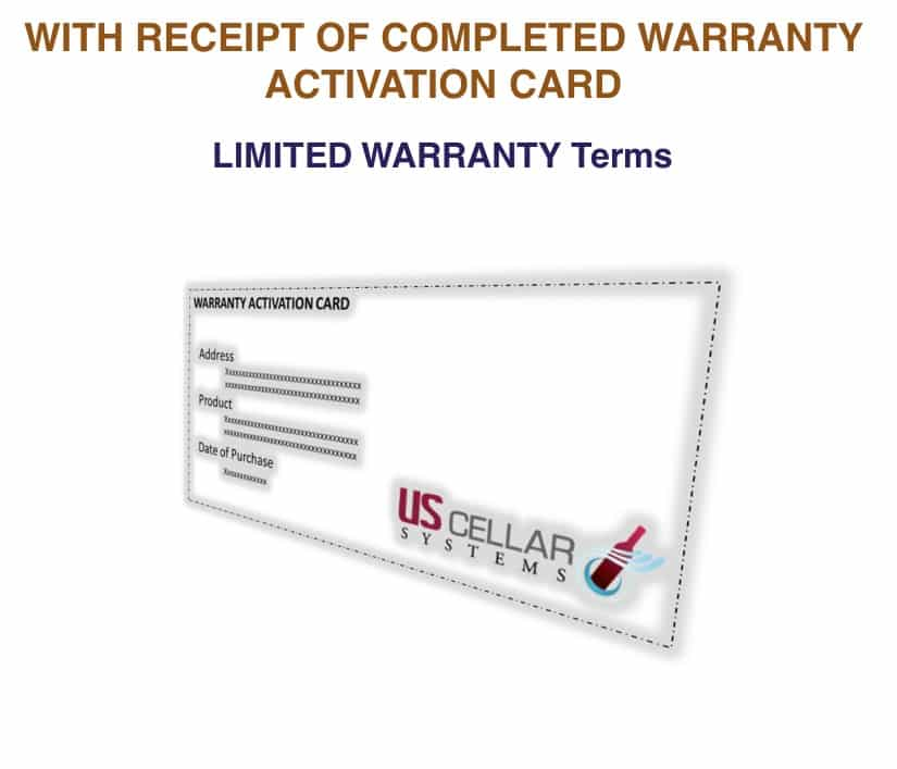 To see the warranty terms CLICK HERE.