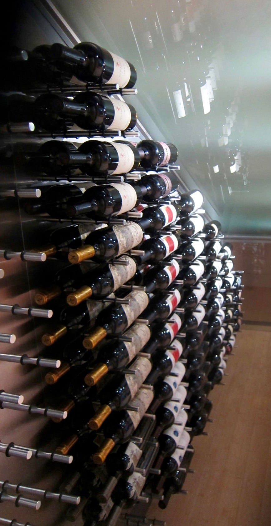 Metal Ultra Peg System Dallas Home Wine Cellar