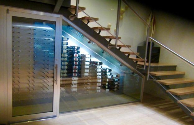 efficient wine cellar cooling solution for a modern home in dallas texas