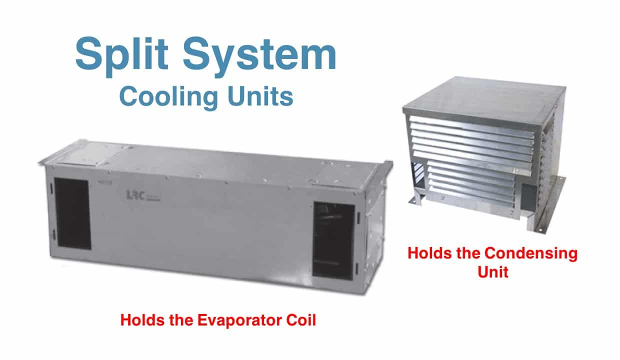 Room Cooling Units : Split systems for wine cellar cooling units