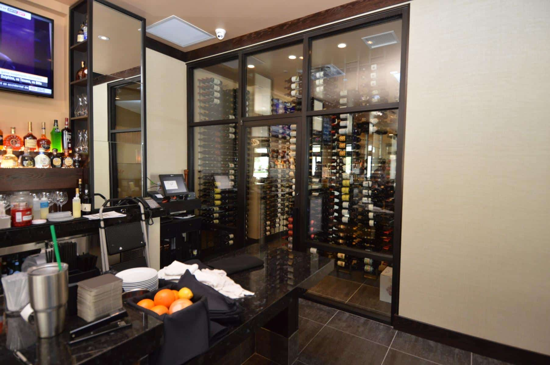 Wine cooling systems for Custom wine bar