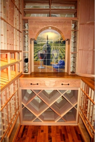 Beautiful Wine Rack Design by California Master Builders