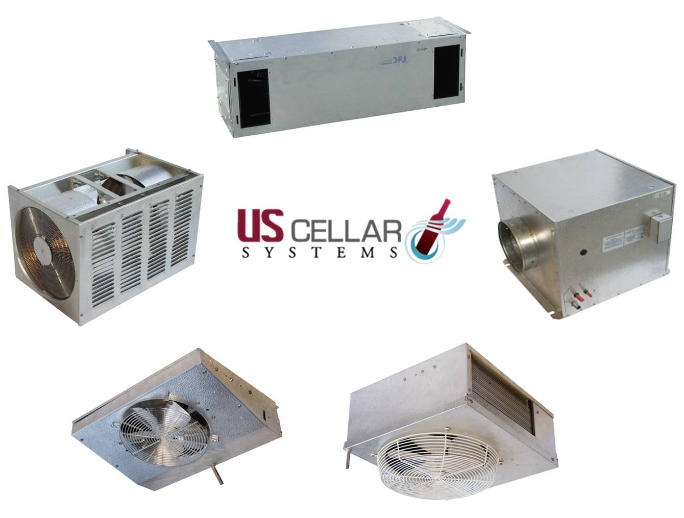 Efficient Wine Cooling Units California US Cellar Systems