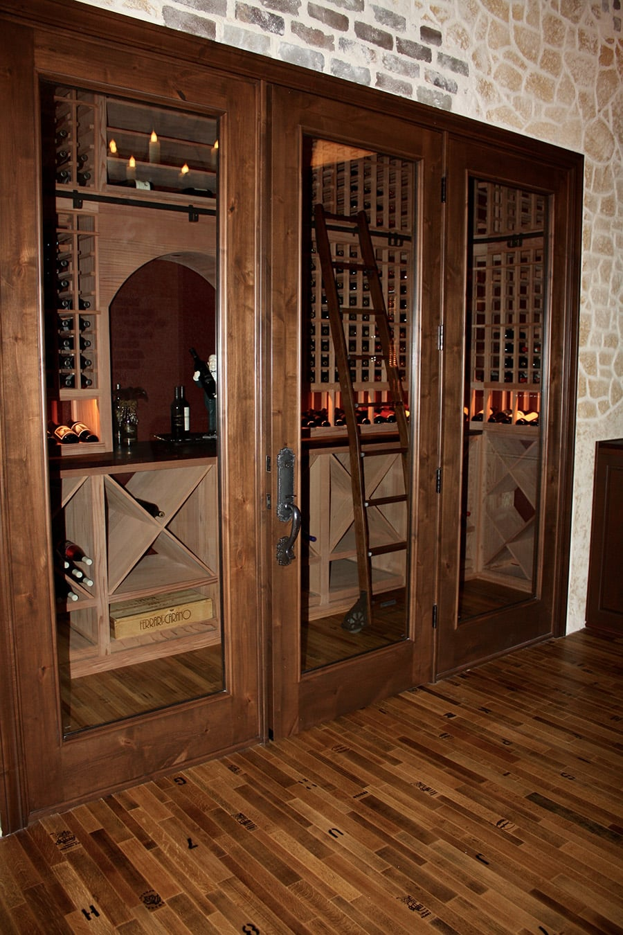 Does a custom wine cellar increase luxury home 39 s value for Home wine cellar designs